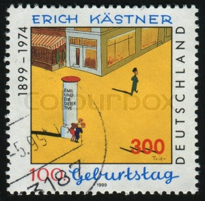 3487736-germany-circa-1999-stamp-printed-by-germany-shows-erich-kastner-writer-circa-1999
