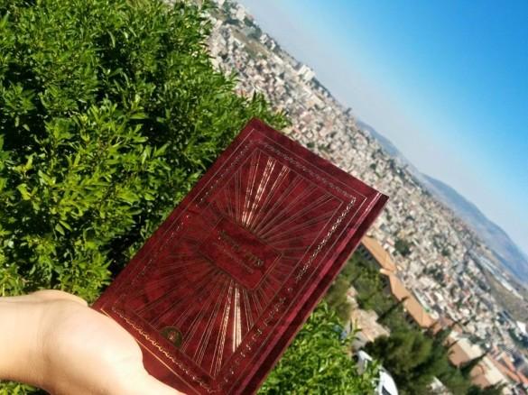 הספר על רקע הטבע