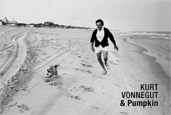 Kurt-Vonnegut-and-Pumpkin-550x373