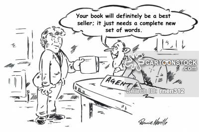 'Your book will definitely be a best seller; it just needs a complete new set of words.'